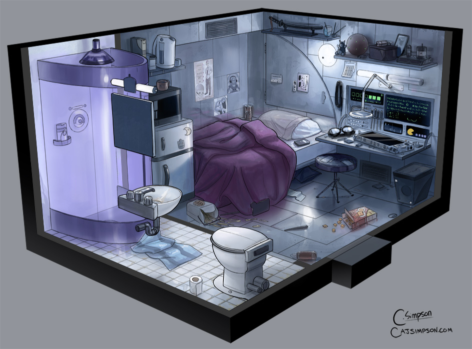 Cyberpunk harvest moon cody a j simpson illustration blog - Closet ideas small spaces concept ...